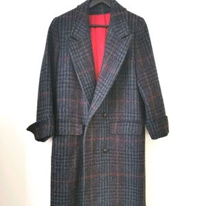 Vintage maxi S4 100% pure wool coat